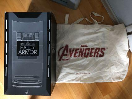 Hot Toys Iron Man 3 Hall of Armor (House Party Protocol Version)