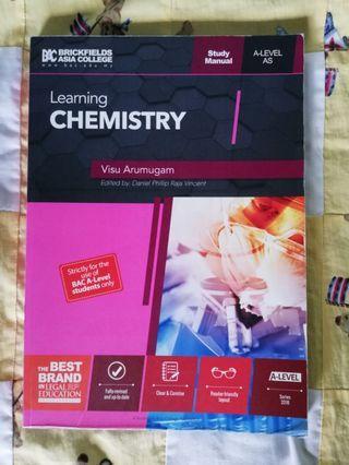 CIE A-LEVEL CHEMISTRY STUDY MANUAL