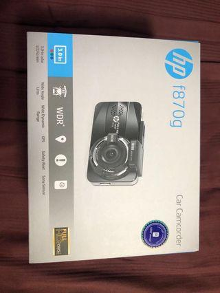 Hp f870g Car Dash Cam Front and Back