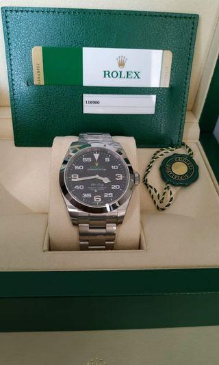 BNIB Rolex Airking May 2019 Full Sealed