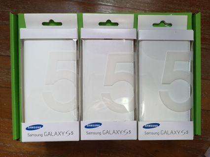 🚚 Authentic Samsung S5 Flip Cover