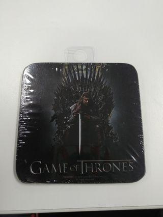 Game of Thrones  - Single Coasters ( 單個杯墊 - 兩款 )