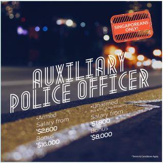 Auxiliary Police Officer / Auxiliary Police Officer(E)