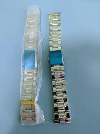 (BNIB) 20mm Stainless steel watch band bracelet with clasp