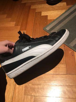 Puma smash leather shoes