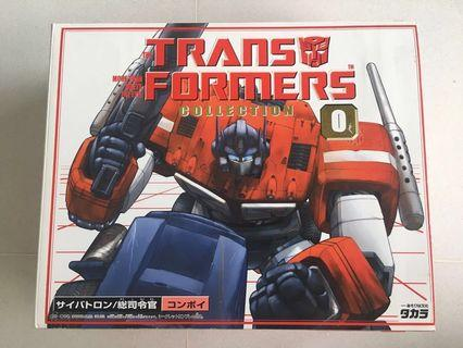 🚚 Takara TOMY Transformers Collection 0 (TFC) Optimus Prime G1 Reissue with Collector's Album