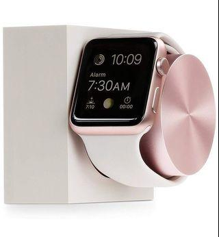 Rose Gold / Pink Native Union DOCK for Apple Watch 42mm 38mm