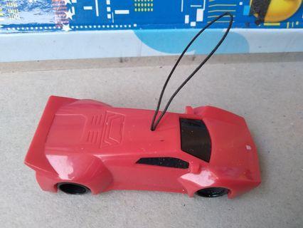 #mauthr Mobil Mobilan sports merah kecil & gantungan