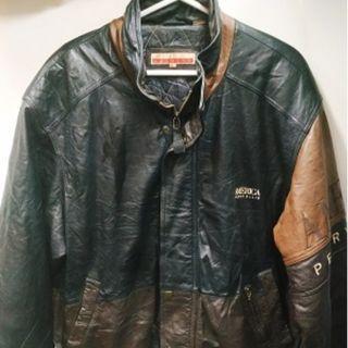 Perry Ellis Size Xl Genuine leather jacket