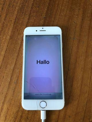 [SOLD] IPHONE 6 GOLD VERY USED