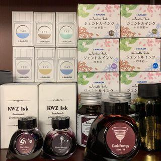 (墨水分裝/ink samples) Sailor Colorverse KWZ Robert Oster etc 鋼筆墨水 fountain pen ink