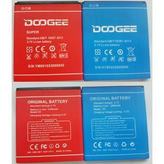 Original DOOGEE X5 X5 Pro 2400mAh 3100mAh Battery