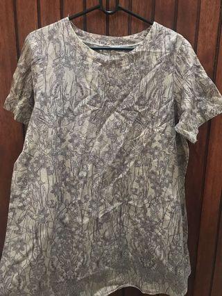 Dress Selutut Size L