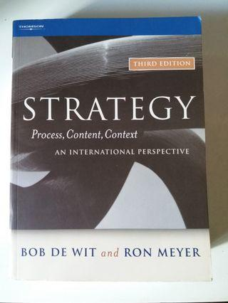 🚚 Management Strategy Textbook