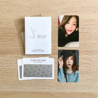 OFFICIAL Taeyeon 'S... Sone 'S...One Concert Fortune Scratch Set Merchandise Merch Fortune Card Photocard