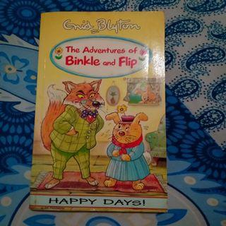 The adventure of binkle and flip by enid blyton