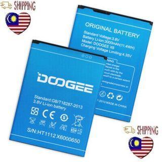 DOOGEE Ori Doogee X6 X6 Pro 3000mAh Battery
