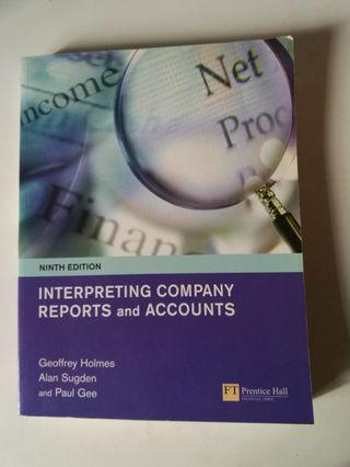 Interpreting Company Reports and Accounts