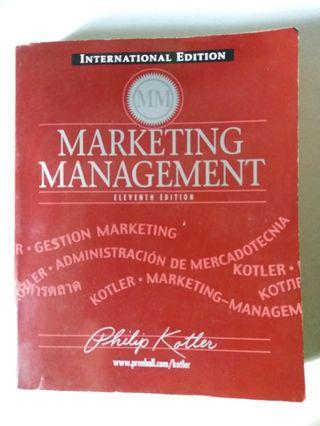 🚚 Marketing Management Textbook (11th Edition)