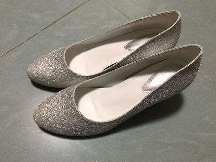 銀色高跟鞋 婚鞋