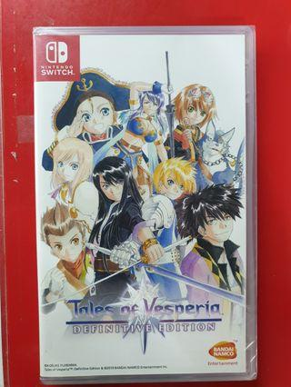 Brand New Switch Tales Of Vesperia