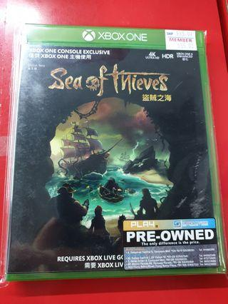 Preowned XBox One Sea Of Thieves