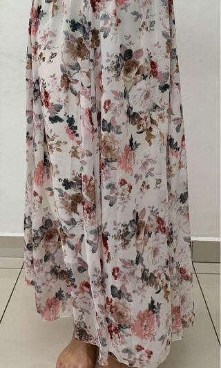 Brand new without tag long skirt