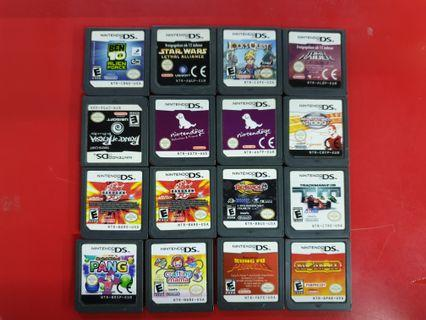 NDS Loose Pack Games