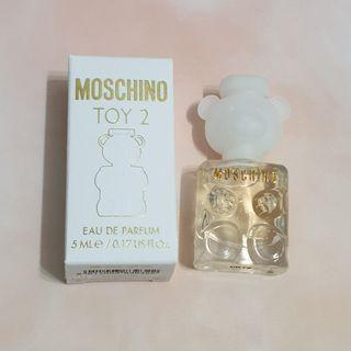 🚚 【全新】Moschino toy2熊芯未泯香水5ml