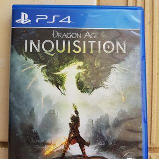 Dragon age inquistion PS 4