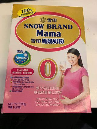 雪印 媽媽奶粉 Snow Brand Mama 100g
