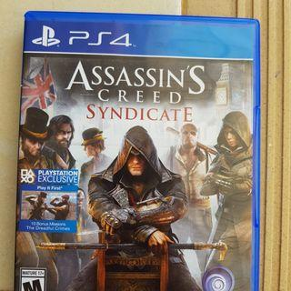 Assassin creed syndicate PS 4