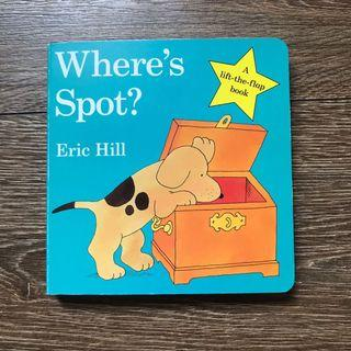 [NEW] 'Where's Spot' 立體書 lift the flap baby story book
