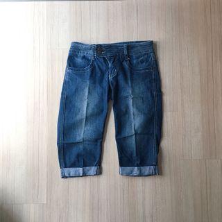 Jeep Denim Knee Length Jeans