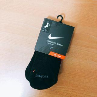 🚚 Nike黑色長襪 全新 M 24-27cm 原價195