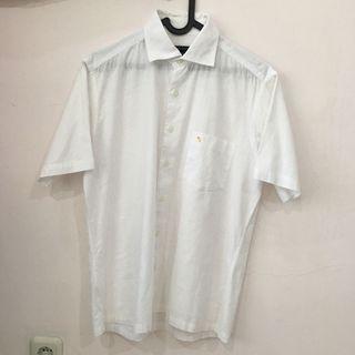 Arnold Palmer White Textured Shirt (Kemeja Pria) (Like New)
