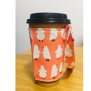 Cup carrier / cup holder (newly added design! - Friendly Birdies)