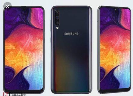 Samsung galaxy a50 second