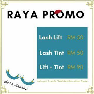 LASH LIFT + TINT SHAH ALAM/ PJ - home service