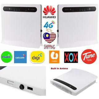 Huawei LTE CPE B593 4G LTE Sim Card Wifi Router Modem