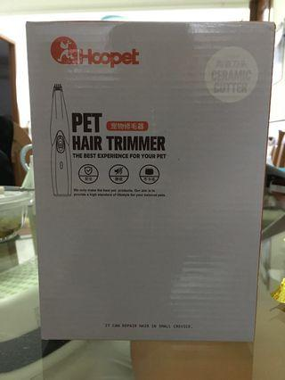 Pet hair trimmer