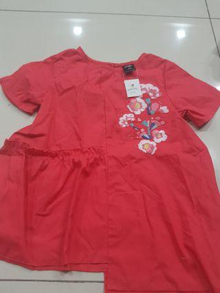 *new* max fashion babydoll top