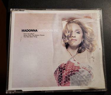 MADONNA AMERICAN PIE CD SINGLE