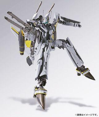 DX Chogokin YF-29 Durandal Valkyrie (30th Anniversary ver) + Super Parts