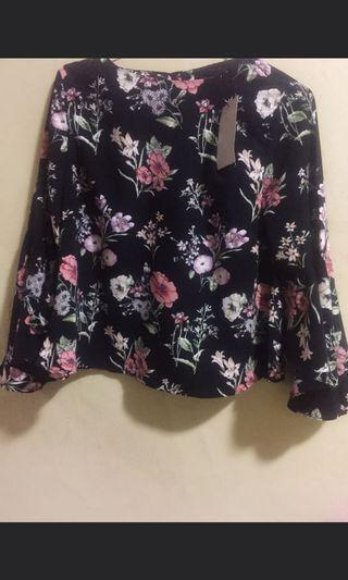 The Executive Flower Blouse
