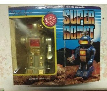 懷舊收藏 香港制造玩具 SUPER ROBOT