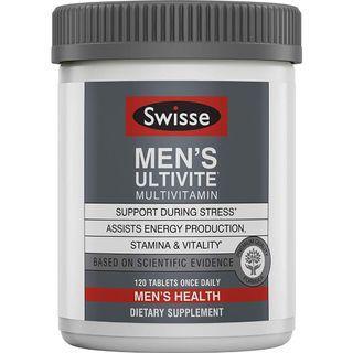 🚚 Swisse Ultivite Men's 120 tabs