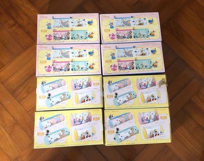 7-11 Disney 一套八款透明隨行袋 (全部連包裝盒) (不設散賣)