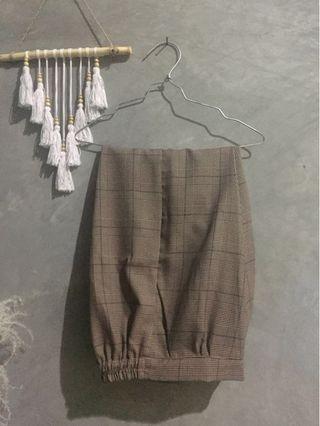 ZARA Tartan Pants #mauthr
