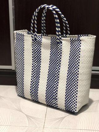 墨西哥製編織手挽袋☀️
